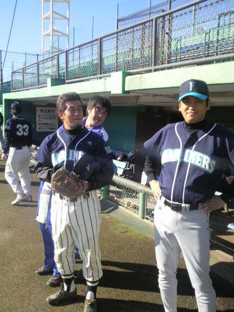 中5野球大会・・・。